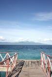 Widok na ocean w Indonezja Obraz Stock
