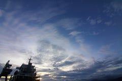 Widok na ocean w Indonezja Zdjęcie Stock