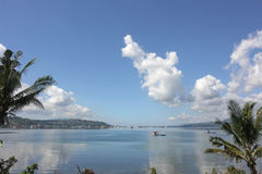 Widok na ocean w Indonezja Zdjęcia Stock