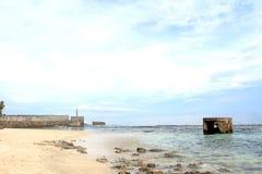 Widok na ocean w Indonezja Fotografia Stock