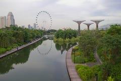 Widok na ogródach Marina Zdjęcie Royalty Free
