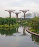Widok na ogródach Marina Zdjęcia Royalty Free