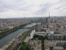 Widok na Paryż zdjęcia royalty free