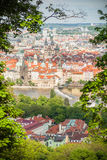 Widok na Praga Obraz Stock
