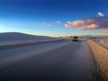 widok na pustyni zdjęcie stock