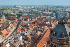 Widok na redroofs Strasburg Obraz Royalty Free