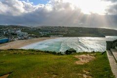 Widok na St Ives zdjęcie royalty free
