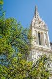 Widok na St. Stephen katedry wierza Fotografia Stock