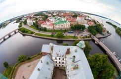 Widok na Starym mieście od obserwacja pokładu Vy Obrazy Stock