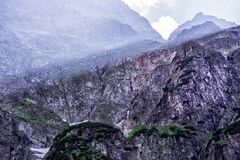 Widok na Tatry górach Zdjęcie Royalty Free