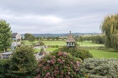 Widok na th wzgórzy holenderskiej naturze od Belgium Obraz Royalty Free