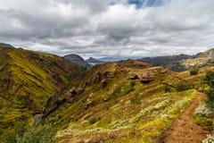 Widok na Thorsmork strefie w Iceland Zdjęcia Royalty Free