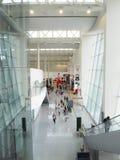 Widok na UE terminal w Brukselskim lotnisku fotografia royalty free