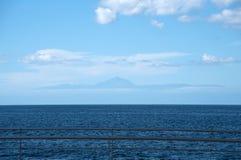 Widok na volcan Teide Fotografia Stock