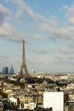 Widok na wieży eifla zdjęcie stock