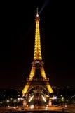 Widok na wieży eifla zdjęcia royalty free