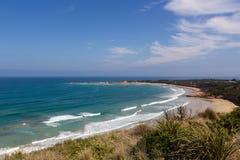 Widok na Wielkiej ocean drodze Obrazy Stock