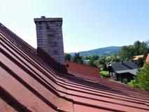 Widok na wzgórzu Zdjęcia Royalty Free