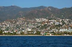 Widok na zatoce Acapulco, Meksyk Zdjęcie Stock