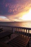 Widok na zatoce Tajlandia Fotografia Stock
