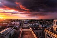 Widok nad Cienfuegos Zdjęcie Royalty Free