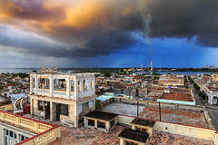 Widok nad Cienfuegos Obraz Royalty Free