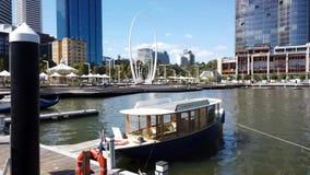 Widok Nad Elizabeth Quay Perth CBD, zachodnia australia