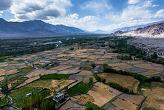 Widok nad Indus doliną Obrazy Royalty Free