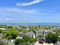 Widok nad Massachusetts zdjęcia royalty free
