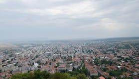 Widok nad miastem Obrazy Royalty Free