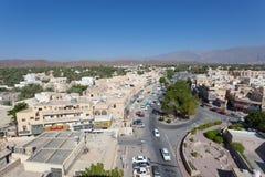 Widok nad miastem Nizwa, Oman Obrazy Royalty Free