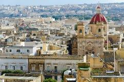 Widok nad miastem Wiktoria Zdjęcia Royalty Free