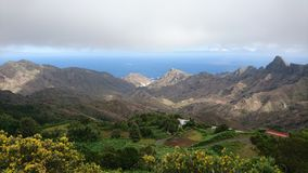 Widok nad Teides kalderą Obrazy Royalty Free