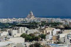 Widok nad Wiktoria, Rabat Obraz Stock
