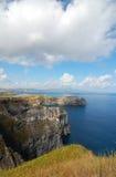 Widok nad wybrzeżem Azores Fotografia Royalty Free