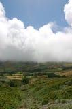 Widok nad wybrzeżem Azores obraz royalty free