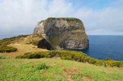 Widok nad wybrzeżem Azores zdjęcia stock