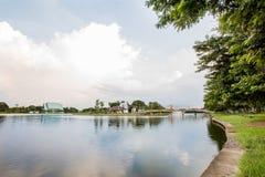 Widok Nakornsawan Tajlandia, Nhongsombun Obrazy Stock
