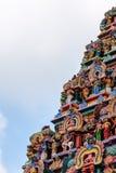 Widok Nataraja świątynia, Chidambaram, India zdjęcia stock