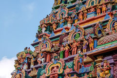 Widok Nataraja świątynia, Chidambaram, India obrazy stock