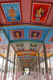 Widok Nataraja świątynia, Chidambaram, India zdjęcia royalty free