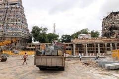 Widok Nataraja świątynia, Chidambaram, India Zdjęcie Stock
