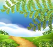 Widok natura ilustracja wektor