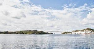 Widok natura w Norwegia Zdjęcia Stock