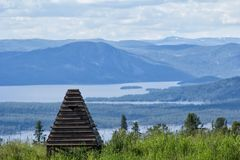 Widok natura w Norwegia Zdjęcie Stock