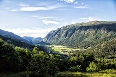 Widok natura w Norwegia Zdjęcia Royalty Free