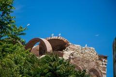 Widok Nessebar Bułgaria obraz stock