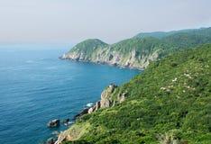 Widok Nha Trang zatoka, Wietnam Zdjęcia Royalty Free