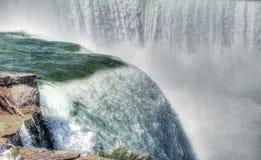Widok Niagara spada od Terrapin punktu Zdjęcie Royalty Free