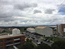 Widok nieba W Oeiras Obrazy Royalty Free